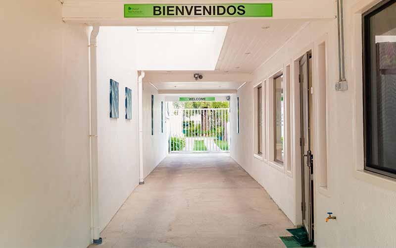 Entrada de Autos Hotel San Fernando