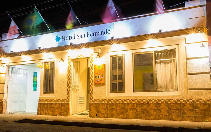 Frontis Hotel San Fernando