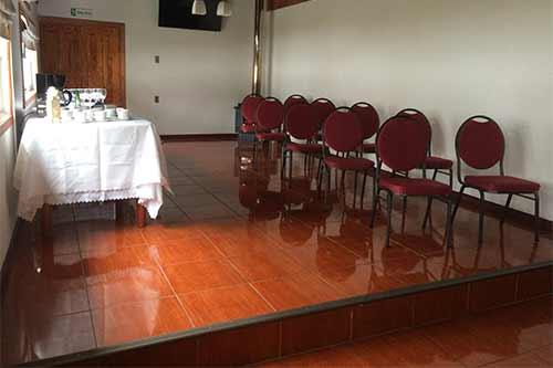 Sala de Capacitación - Hotel San Fernando